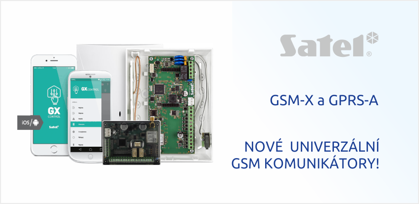 GSM moduly Satel